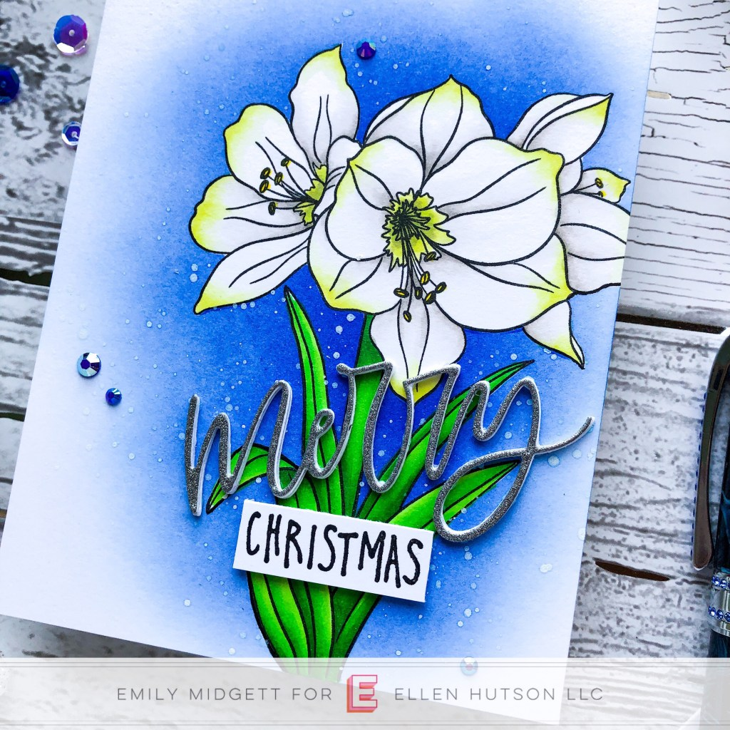 Coloring White Flowers With Copic Markers