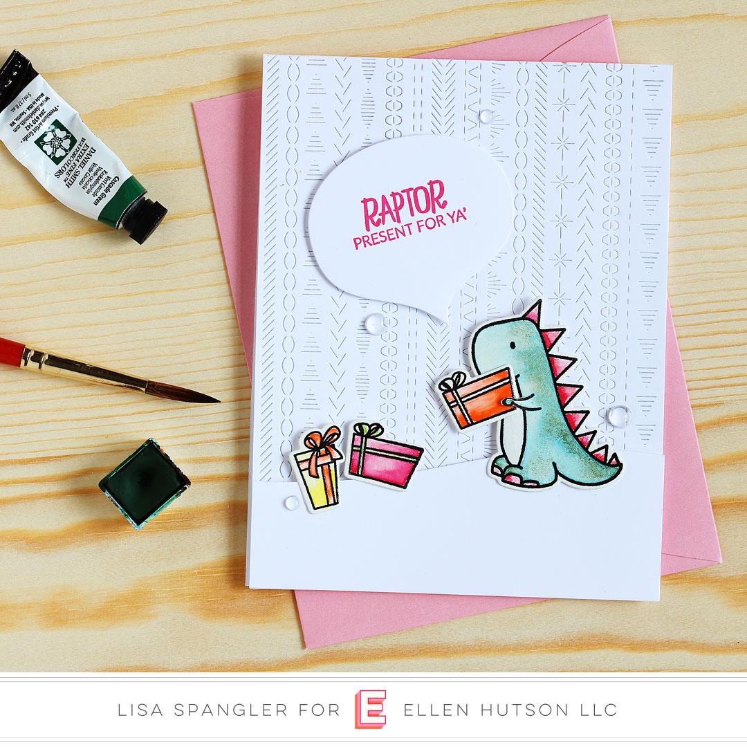 Essentials by Ellen Dinomite Christmas by Lisa Spangler