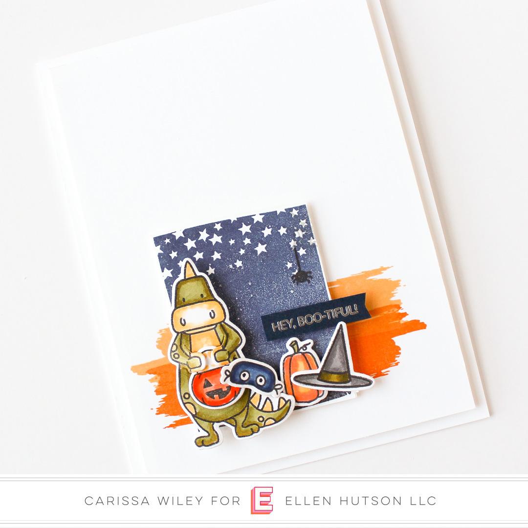 Essentials by Ellen Dinomite Halloween by Carissa Wiley