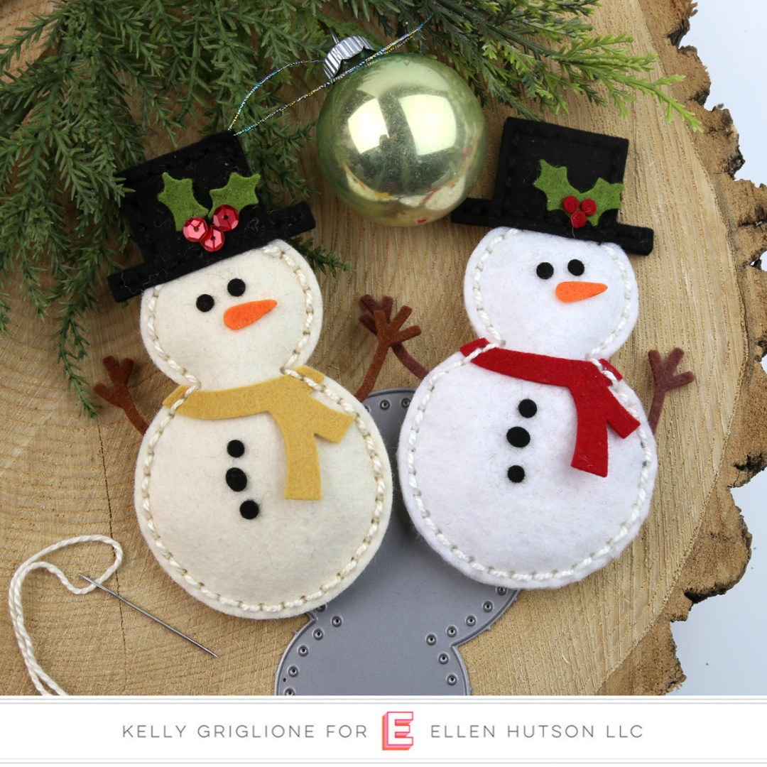 Essentials by Ellen Sew Cute Snowman
