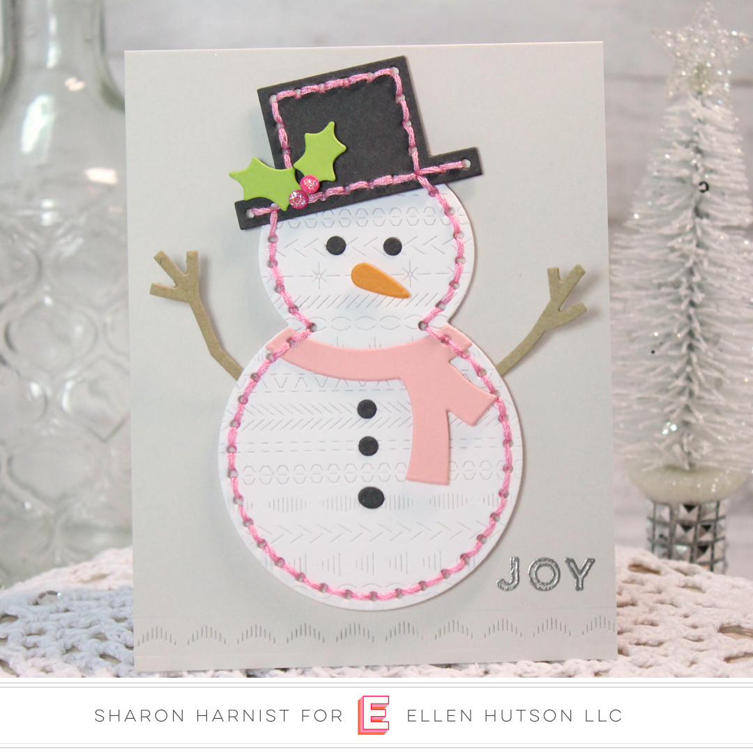 Essentials by Ellen Sew Cute Snowman