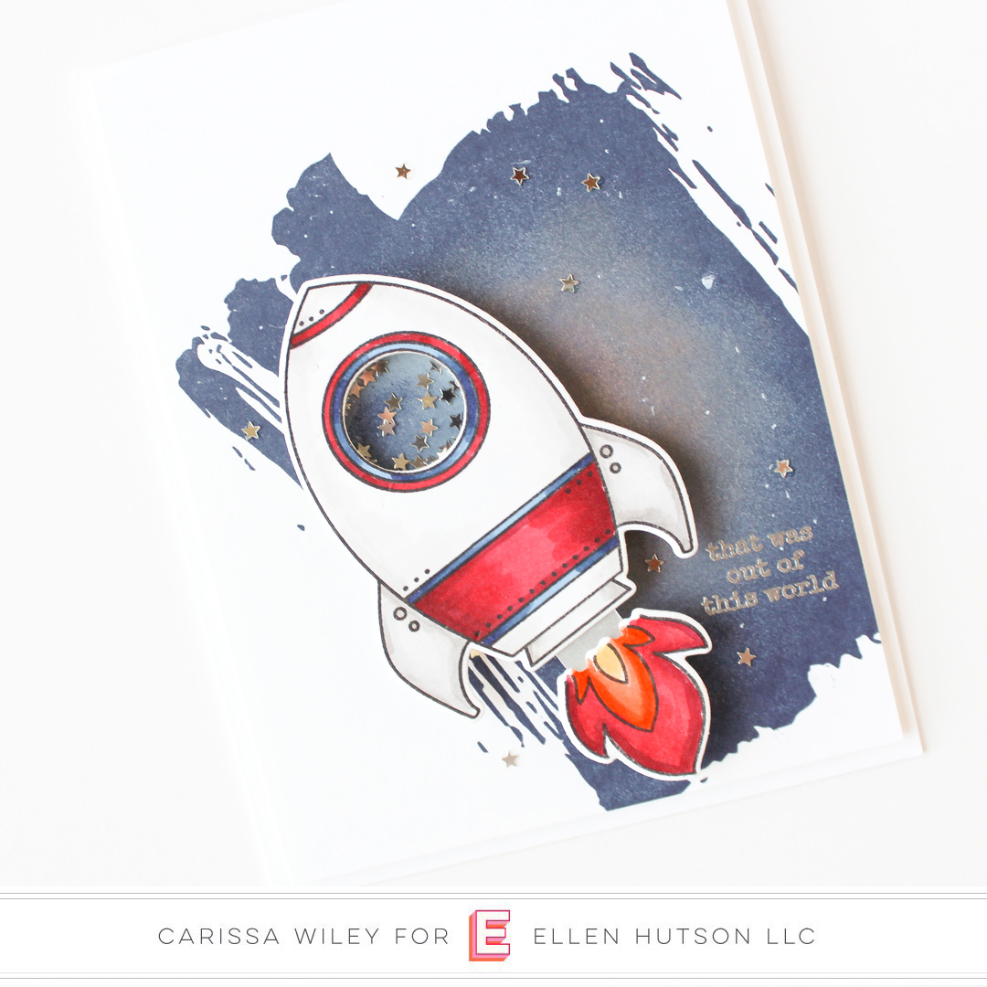 Essentials by Ellen Space Out by Carissa Wiley