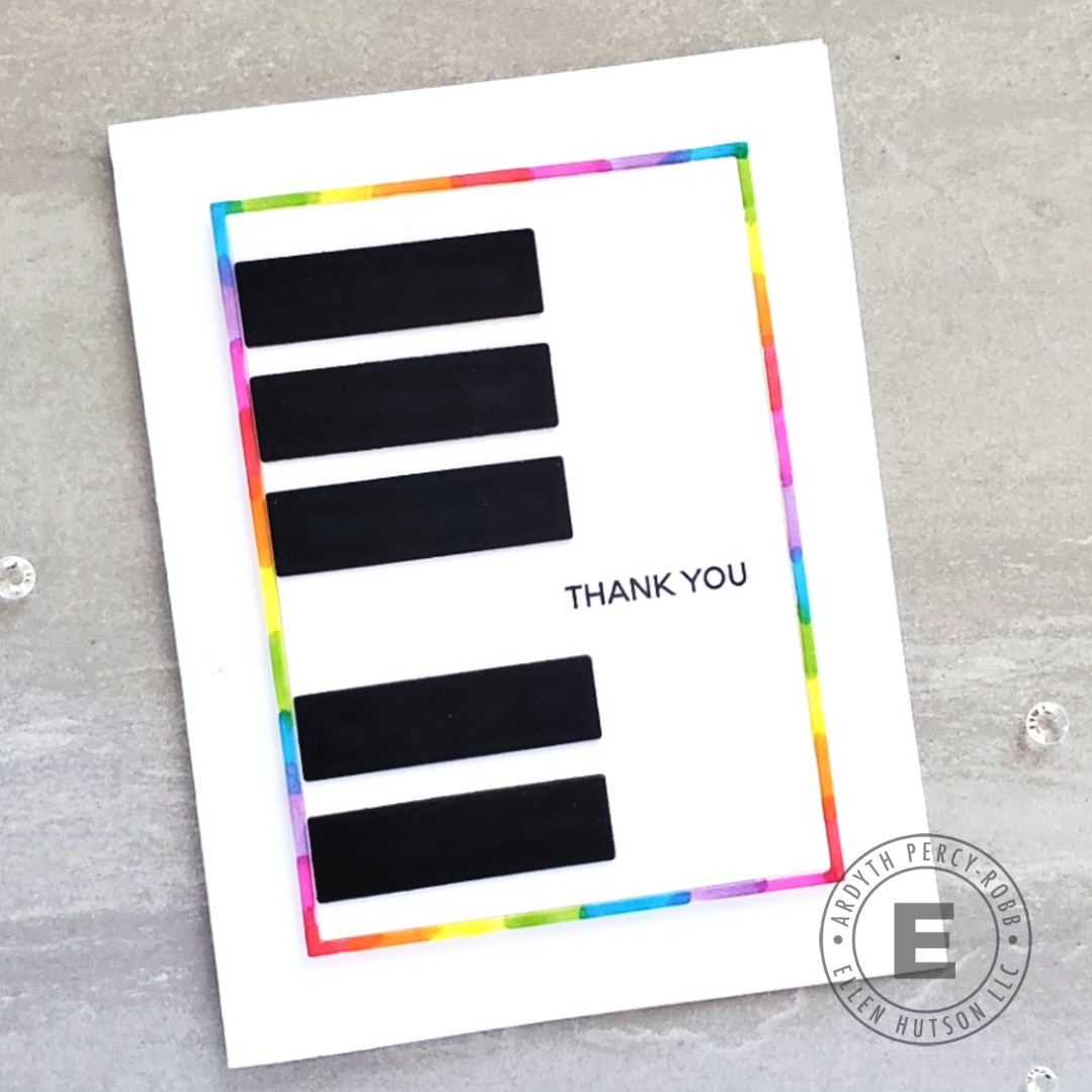How To Design Cards With Simple Shapes with Essentials by Ellen Dies