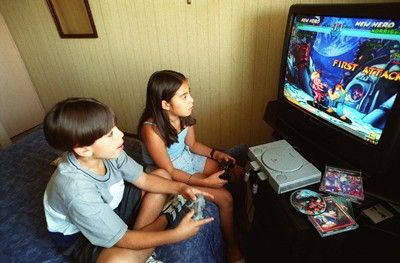 3. Jugar a los videojuegos