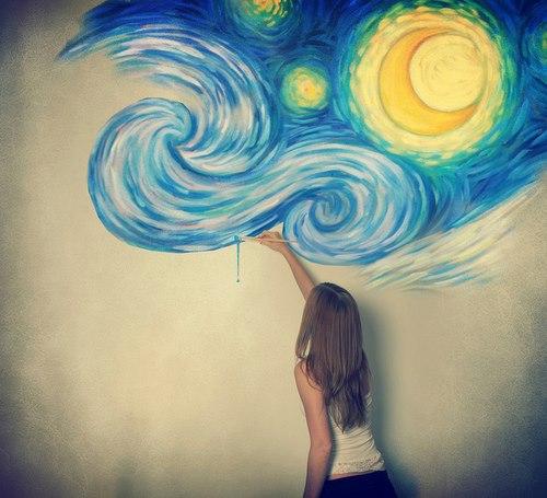 7. Pinta tu cuarto con dibujitos o de algun color