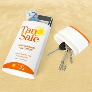 1. Cuando vayas a tomar sol guardá objetos de valor en un envase vacío de protector solar, probablemente nadie esté interesado en robarlo.