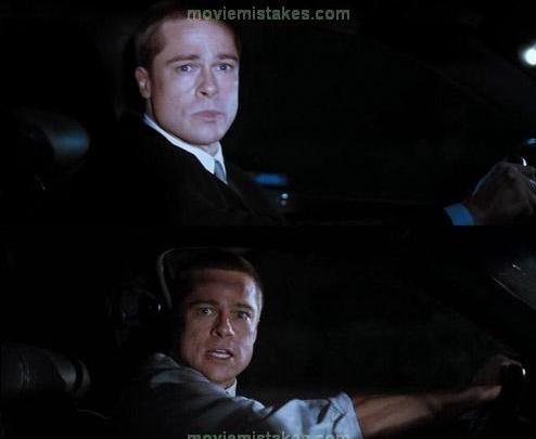 7. Sr. y Sra. Smith. Brad Pitt es tan genial que la chaqueta se le sale sola