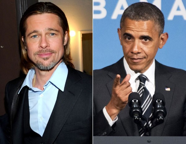 13. Brad Pitt y Barack Obama tienen un parentesco, aunque lejano: el noveno primo del actor por parte de su madre es nada más y nada menos que el presidente estadounidense. Brad también es pariente lejano de Winston Churchill.