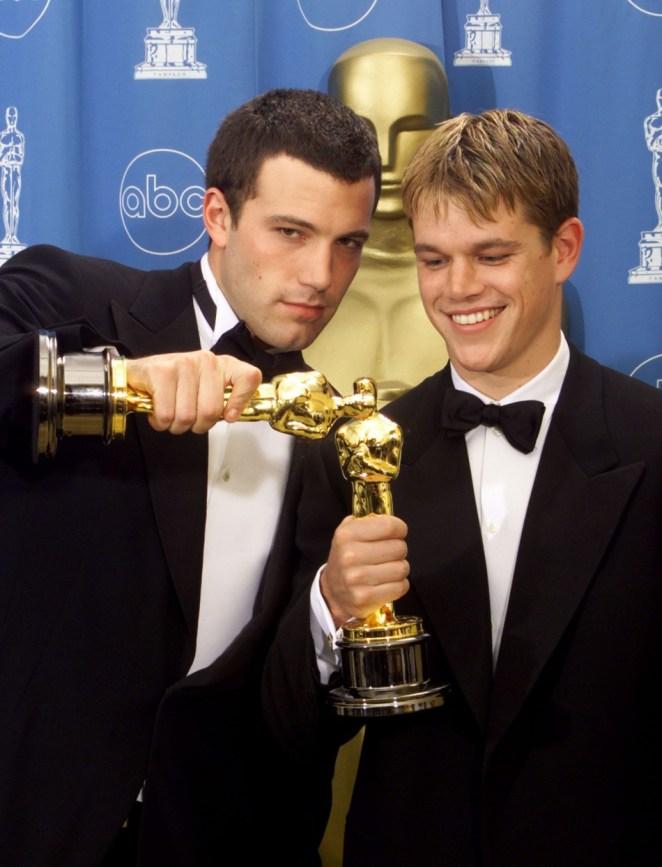 20. Ben Affleck y Matt Damon no sólo son amigos: los actores son primos por décima generación. Además, Ben está emparentado con la familia de la Princesa Diana.