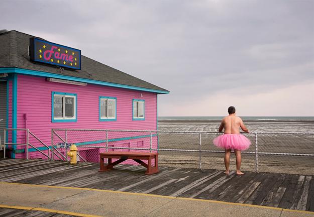 Así, Bob y su tutú rosa, son un recordatorio para todas las mujeres...