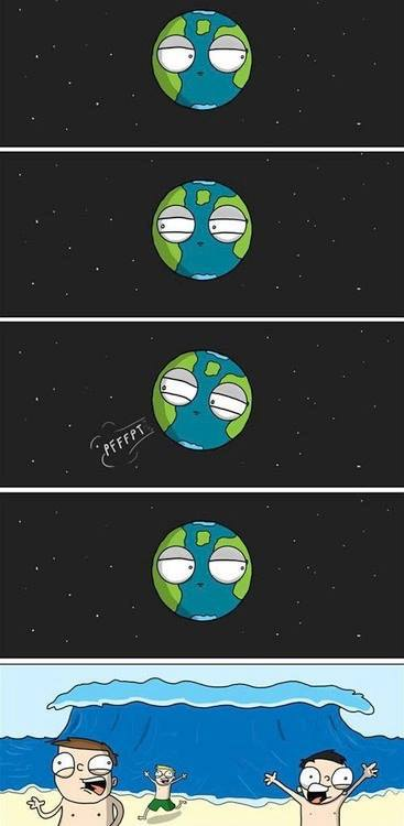 2. Este es el verdadero motivo de los tsunamis y terremotos.