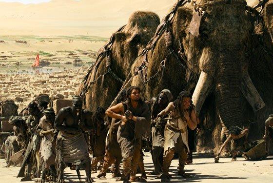 1. Todavía había mamuts cuando construyeron la Gran Pirámide de Guiza