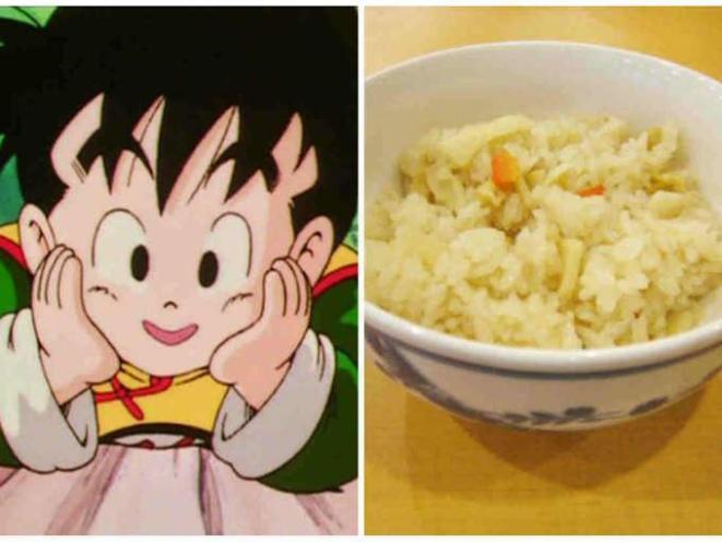 1. Gohan=gohan (arroz blanco cocido)