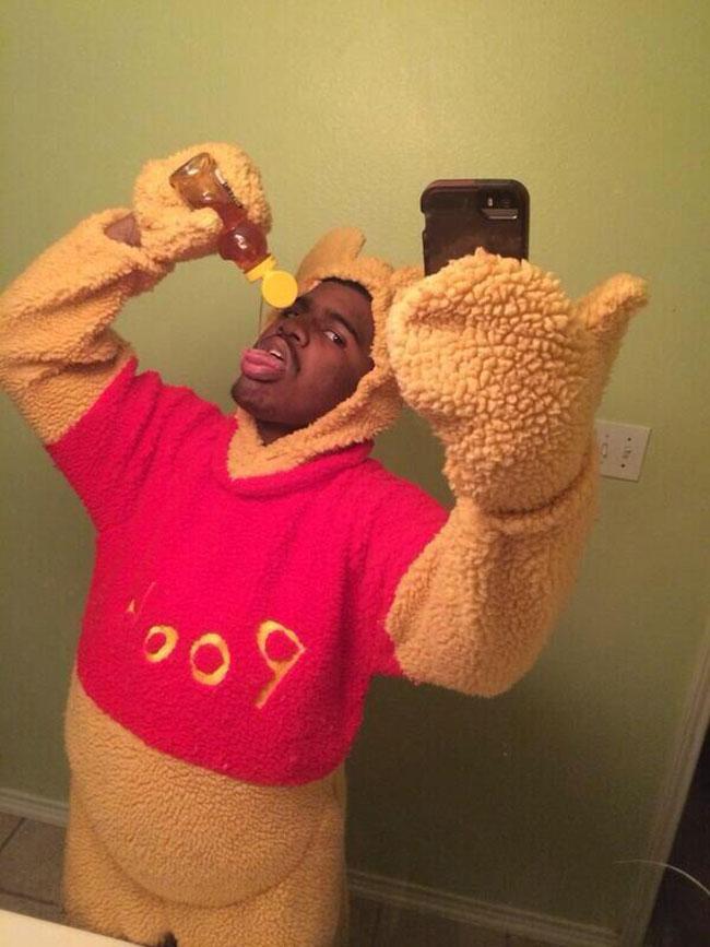 8. Winnie Pooh nigga adicto a la miel