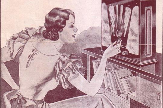 1. Argentina fue el primer país del mundo en hacer una transmisión de radio para entretenimiento en 1920. Sólo 20 personas tenían un equipo de radio para poder escucharla.