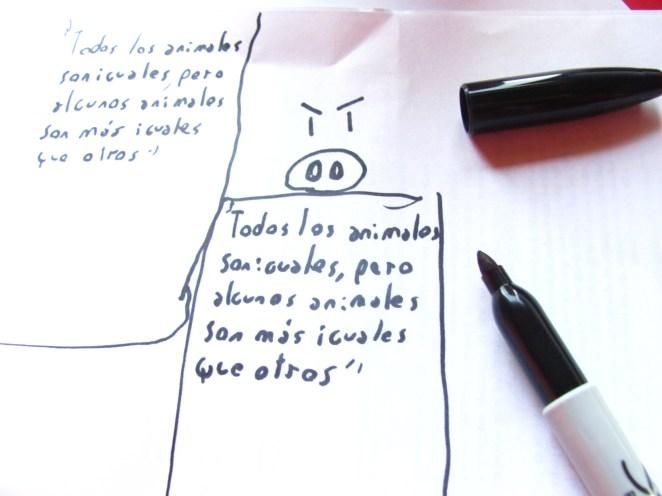 Paso 1: Pensar y practicar el dibujo