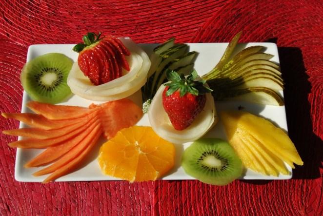 Brunch con frutas