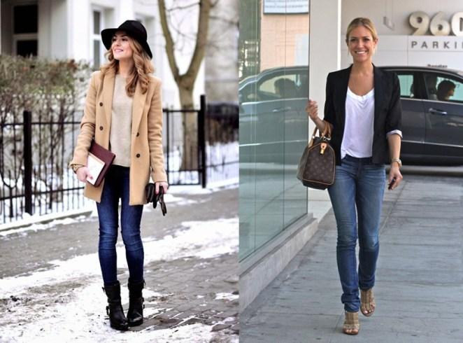 Si hace frío o si hace calor, el pantalón de jean sirve para todas las estaciones del año.