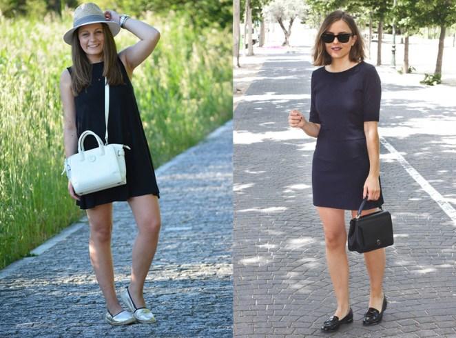 Para un día de verano informal o formal, según los accesorios el vestido negro te sirve las 24 horas.