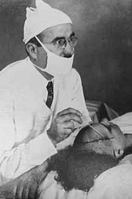 24. El Dr. Freeman: el médico que inventó las lobotomías