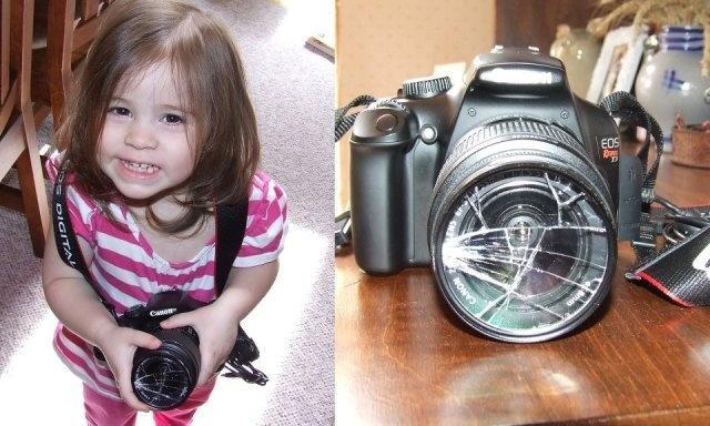 20. La nueva cámara profesional de papá