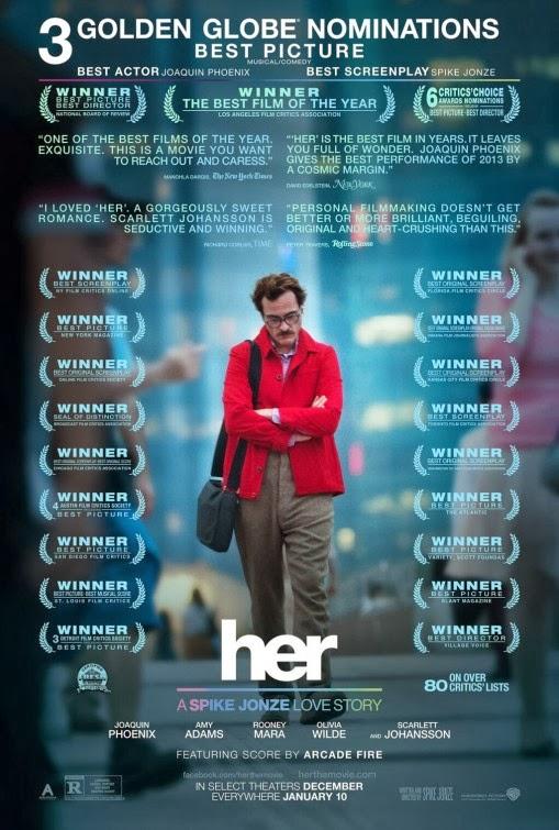 14. Los posters de películas repletos de premios y críticas positivas