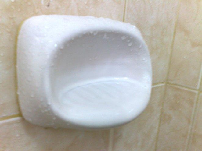 19. Estas jaboneras que nunca sostienen ningún jabón