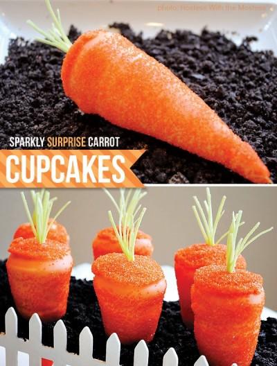 4. Cupcakes de zanahoria