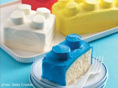 5. Gracias internet, puedo armar tortas de Lego