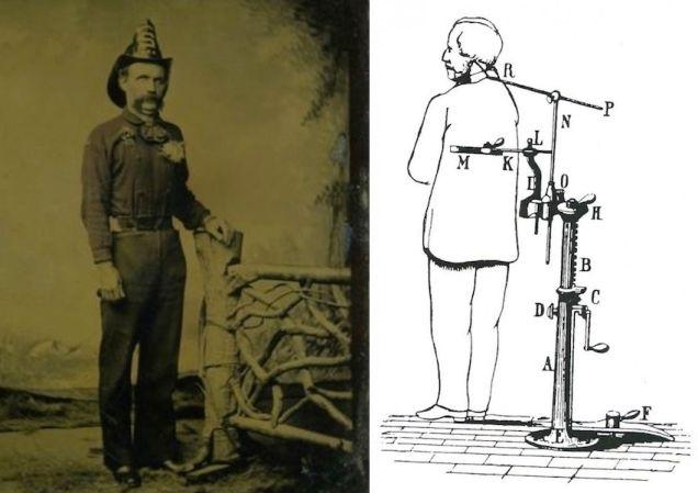 28. Pero, ¿cómo se mantenían en pie o de buena postura algunos cuerpos?