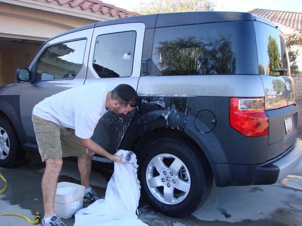 9. Como un trapo para lavar el auto