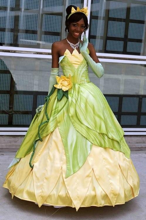 2. Princesa Tiana de la Princesa y el Sapo
