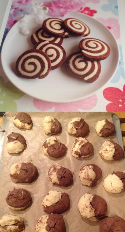29. El yin y yang hecho galletita