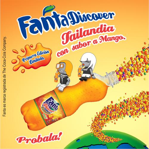 6. Fanta Discover sabor mango