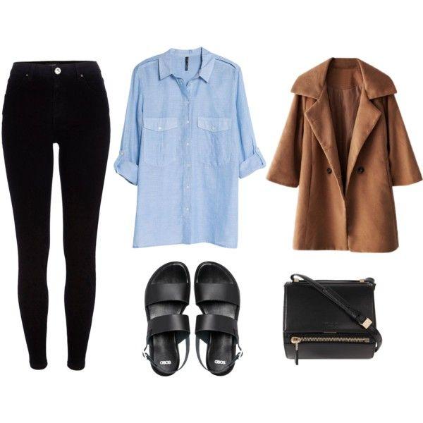 3. Podés cambiar la remera por una camisa, y la mochila por una cartera: