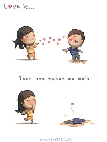 13. Tu amor me hace derretir