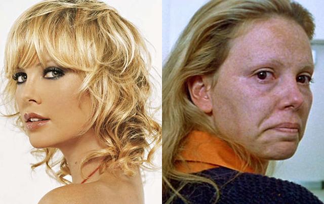 6. Charlize Theron engordó a base de papas fritas y donas. Se afeitó las cejas y se afeó para Monster