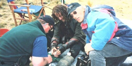 11. Viggo Mortensen se rompió el pie al patear un casco de orco en El Señor de los Anillos: Las dos torres