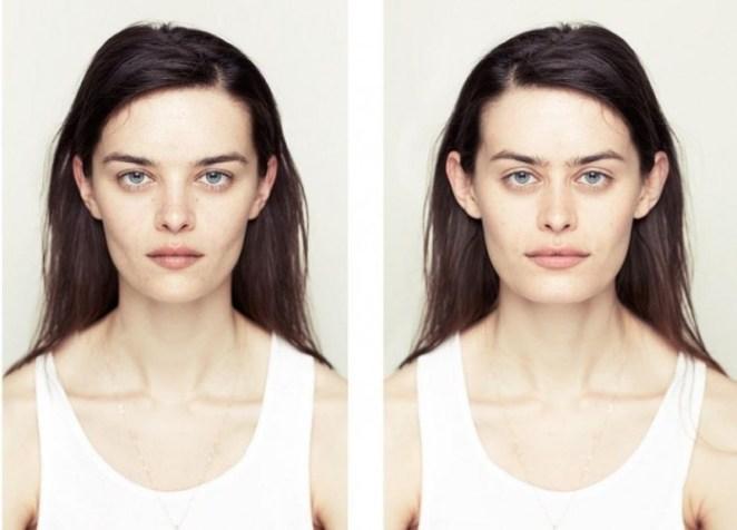 Y si fuesemos simétricos... seríamos más lindos? mirá las fotos y evalualo vos