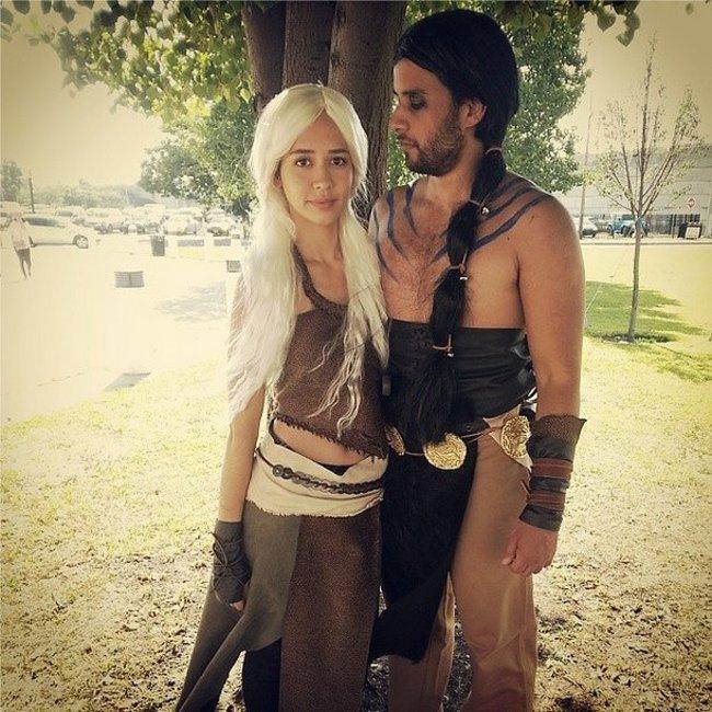 21. Daenerys Targaryen y Khal Drogo