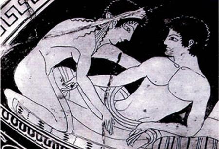 8. Grecia antigua: Cuando la pederastia era una convención social.