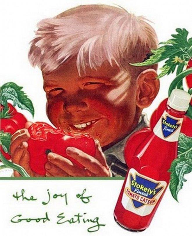 6. Creo que ese nene se está comiendo un tomaco.
