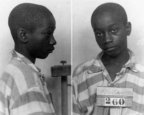 3. George Stinney: Fue el más joven en ser sentenciado a silla eléctrica, a los 14 años. Se lo acusaba de haber matado a dos chicas, de 11 y 8 años, y el se excusó diciendo que sólo quería tener sexo con ellas.