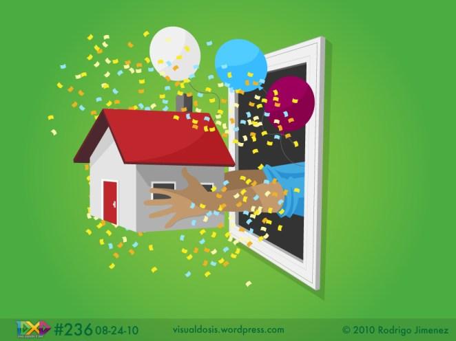 10. Tirar la casa por la ventana.