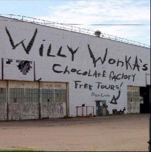14. La fábrica de Willy Wonka, para que algún nene entre buscando caramelos y no salga nunca más