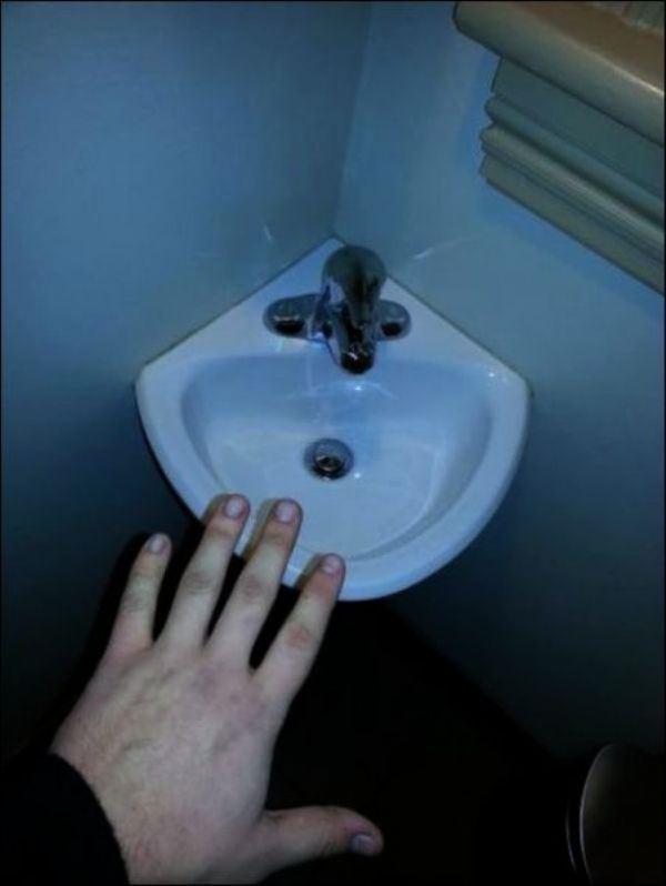 11. Ideal para lavarte solo el dedo meñique, no pidas más.