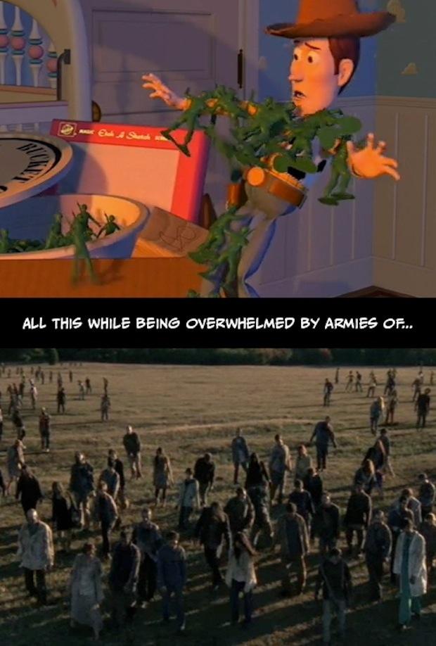 9. Todo esto mientras se arma un ejército de...