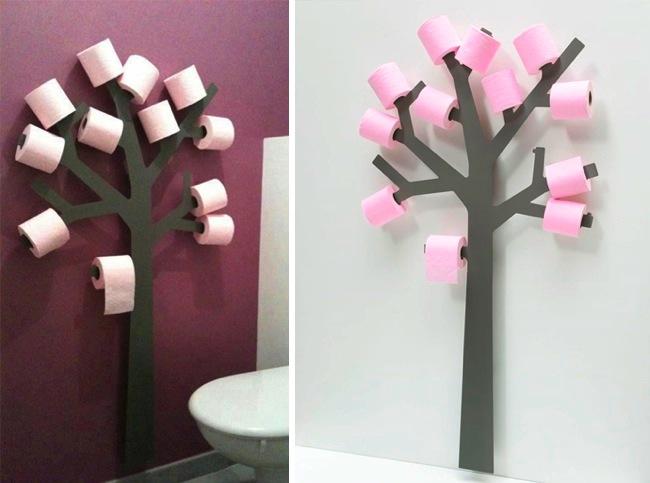 6. Se tienen que talar 385 árboles para fabricar el papel higienico que una persona utiliza a lo largo de toda su vida