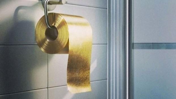 9. El papel higiénico más caro del mundo, cuesta 1,3 millones de dólares por rollo.