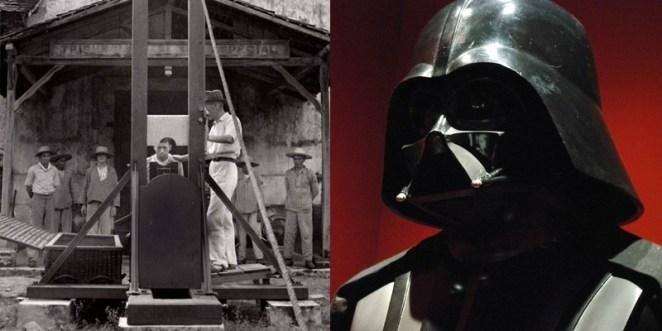 10. Francia seguía ejecutando personas con la guillotina cuando Star Wars se pasaba en los cines.